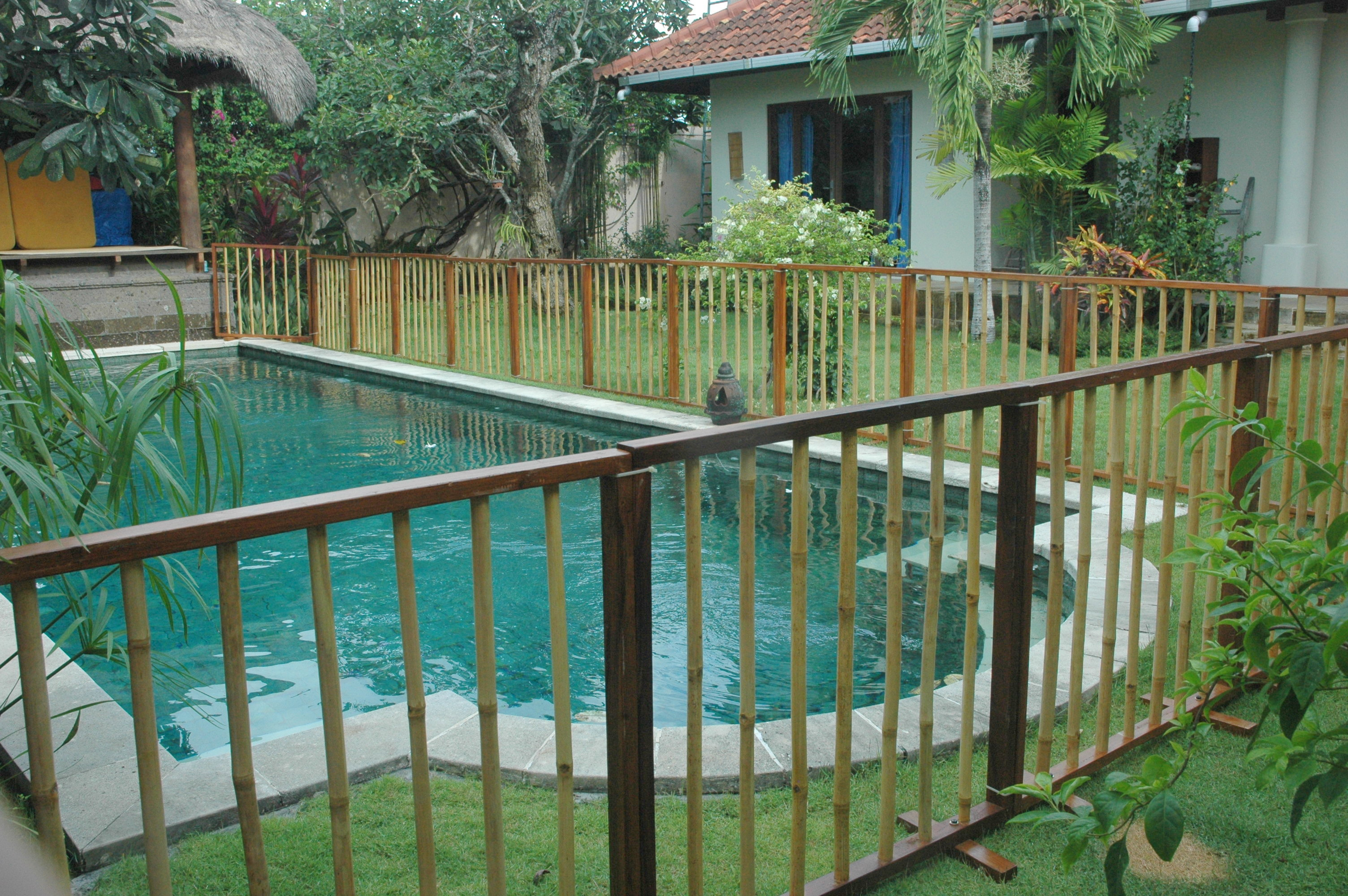 Temporary Wooden Pool Fences Baby Service Bali Baby Equipment